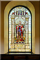 SJ8398 : St Ann's Church, The Solomon Window by David Dixon
