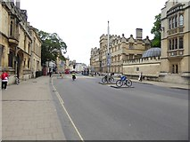 SP5106 : High Street, Oxford by Oliver Dixon