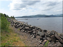 NS4187 : View from SE Shore of Loch Lomond by Stanley Howe