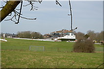 TR1236 : Folkestone Racecourse by N Chadwick