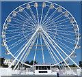 SZ0890 : Big wheel, Bournemouth by Robin Drayton