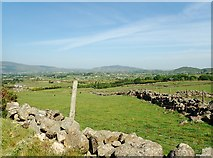 J1018 : Stone walls in the Townland of Clontigora by Eric Jones