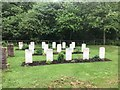 NT7749 : Commonwealth War Graves at Fogo Kirk by Jonathan Hutchins