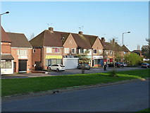 SP0979 : Shops on Priory Road in Yardley Wood by Richard Law