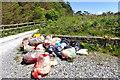 V7460 : Rubbish dump at Loughaunacreen car park by Mick Garratt