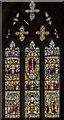 TA0067 : East Window, St Peter's church, Langtoft by Julian P Guffogg