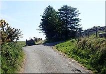 J1018 : Cross roads on Upper Ferryhill Road by Eric Jones