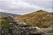NY3507 : Drystone Wall and Stile by Robert Struthers