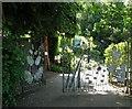 TG2208 : 4 Earlham Road - The Plantation Garden by Evelyn Simak