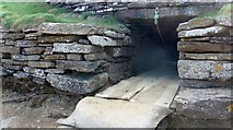 ND4784 : Entrance to the Tomb of the Eagles by Gordon Brown