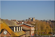 SX9292 : Exeter Cathedral by N Chadwick