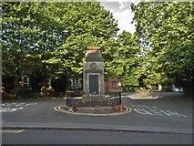 SO8986 : War memorial at the entrance to Holy Trinity Church by David Howard