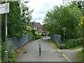 SK4234 : Footbridge over the Ock Brook by Alan Murray-Rust