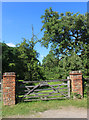 SU8672 : Gate to an Orchard by Des Blenkinsopp
