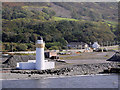 NX0668 : Cairn Point Light (Loch Ryan Lighthouse) by David Dixon