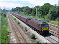ST4387 : Railtour at Undy by Gareth James