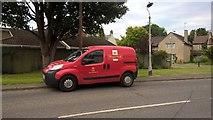 TF1505 : Royal Mail van on Peakirk Road, Glinton by Paul Bryan