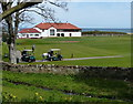 NT5685 : Club house at the Glen Golf Club, North Berwick by Mat Fascione