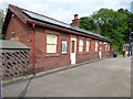 SD4678 : Arnside station - former station building by Stephen Craven
