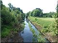 TQ1078 : River Crane in Cranford Park by Marathon