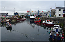HY2509 : Stromness Harbour by Anne Burgess