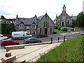 H4472 : Trinity Church Hall and Trinity Presbyterian Church by Kenneth  Allen