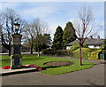 ST3390 : Cherry tree near the War Memorial, Caerleon by Jaggery
