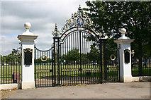 TQ8887 : Entrance to Victory Sports Ground, Southend-on-Sea by David Kemp