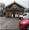 SX8860 : Dartmouth Steam Railway & River Boat Company ticket office in Paignton by Jaggery