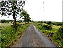 H5672 : Tullyneil Road by Kenneth  Allen