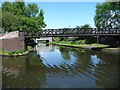 SO9890 : Wednesbury Old Canal, from Pudding Green Junction by Christine Johnstone