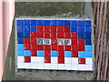 NZ2564 : Ceramic tile public artwork, Low Bridge, NE1 by Mike Quinn