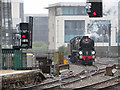 ST1875 : Steam locomotive at Cardiff Central : Week 25