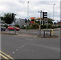 SO9622 : Redmarley Road twin pelican crossings, Oakley, Cheltenham by Jaggery