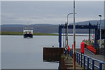 HY3103 : Approaching Ferry by Anne Burgess