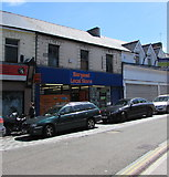 ST1599 : Bargoed Local Store, High Street, Bargoed by Jaggery