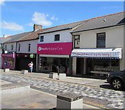 ST1599 : High Street butchers in Bargoed by Jaggery