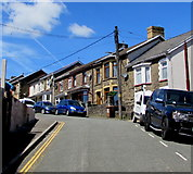 ST1599 : Up Capel Street, Bargoed by Jaggery