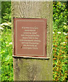 SX9063 : Notice, Cockington Meadows by Derek Harper