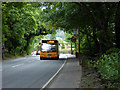 SK2955 : 'Liittle Sixes' bus at the top of 'The Hill', out of Cromford by John Lucas