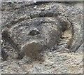 SO8729 : Deerhurst - St Mary's church - Face of the Deerhurst Angel by Rob Farrow