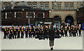 NS5865 : Choir in Glasgow Central railway station by Thomas Nugent