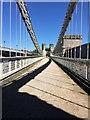 SH7877 : Crescent on Telford's bridge by Richard Hoare