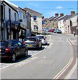 ST1599 : Western end of Upper High Street, Bargoed by Jaggery