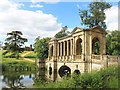 SP6837 : Palladian Bridge, Stowe Gardens by Des Blenkinsopp