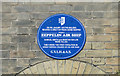 TG5207 : Blue plaque in recognition of the first Zeppelin raid on the UK by Adrian S Pye