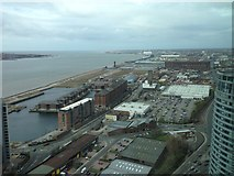 SJ3391 : East side of the River Mersey by Eirian Evans
