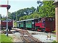 SJ2107 : Welshpool & Llanfair light Railway - The train now arriving by Chris Allen