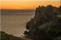 SS7049 : Castle Rock at dawn by Ian Capper