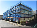 ST3187 : Victoria Place renovation in progress, Newport by Jaggery